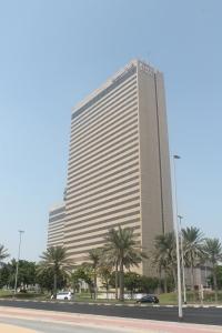 Grand Hyatt typisch für die emiratische Architektur